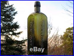 Very Rare Medicineturkish Wine Goodwin & Edgerly New Yorknear Pristine Perfct