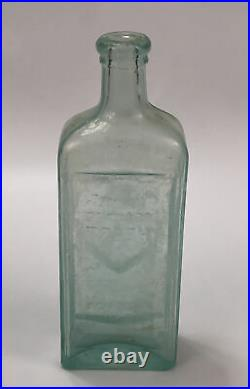 VTG The Blood Dr. Kilmers Oceanweed Heart Remedy Binghamton NY Glass Bottle AA