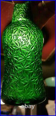 Very Fancy Salt City Bottling Co Syracuse New York Emerald Green Very Decorative