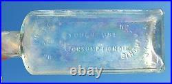 Victorian Era Bottle Dr Kilmer's Indian Cough Cure Consumption Oil Binghamton Ny