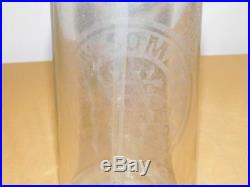 Vintage 11 High A N Somet Max Getman Ny Glass Seltzer Bottle