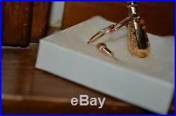 Vintage 14K Gold Harry Winston Perfume Bottle Pendant Necklace 7 51st Street NY