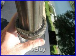 Vintage 1932 Amco Corporation 1 Qt Oil Bottle & Dover Funnel Chicago & Ny