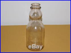 Vintage 1946 Babcock Farms Kingston Ny Cream Top 1 One Quart Milk Bottle