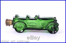 Vintage AVON Big Mold Glass Car Shape Aftershave Bottle From New York. G14-7 US