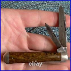 Vintage Antique Crown New York Celluloid Coke Bottle Jack Folding Pocket Knife