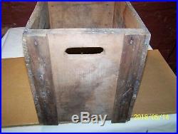 Vintage / Antique Saratoga Vichy Water Wooden Crate Saratoga Springs, N. Y