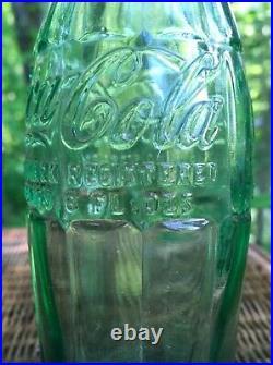 Vintage COCA-COLA COKE 6oz SODA POP BOTTLE D-105529 Utica NY