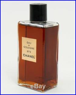 Vintage Chanel No 5 Fragrance Eau de Cologne 8oz Bottle Full Authentic New York