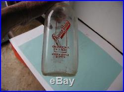 Vintage Dewan Dairy Inc, Oneida, NY 1 Quart Milk Bottle