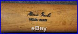 Vintage Heinie Groh Hillerich & Bradsby Bottle Bat Cincinnati Reds NY Giants