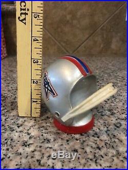 Vintage Houston Oilers NFL Helmet Metal Bottle Opener Loyal Prod N Y C (13)