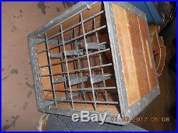 Vintage Milk Crate Gratzer Dairy Syracuse NY 1961 Mint Jug Holder Porch Wine'61