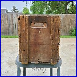 Vintage New York Seltzer Water Co Wood Wooden Crate Detroit Michigan 16x12x10