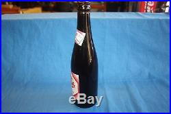 Vintage Pepsi Cola Amber Bottle Menands, New York Paper Label Make Offer FS