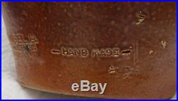 Vintage Stoneware Bottle Del Ray Wine Paper Label A. Rangel R Portugal NEW YORK