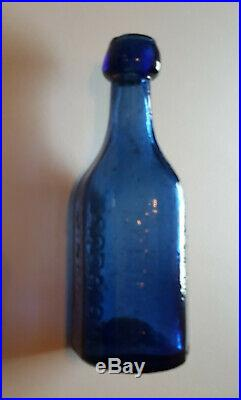 Vintage W. W. Lappeus Mineral Water Albany NY iron pontil