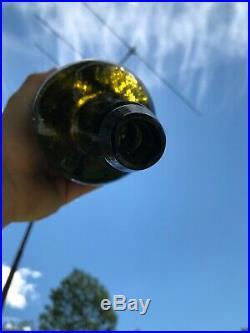 Vintage antique D A Knowlton Saratoga NY Mineral Bottle Perfect! Quart
