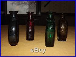 Vntge 4 1981 Sar American Revolution Bottles Maryland 3rd Ny 2nd Nh Delaware Bl