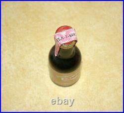 Vtg. Mini Bar Liquor Bottle Tax Stamp New York Canada Dry Florida Bitter Gin Rum