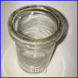 Whitall Tatum & Co Philadelphia New York Clear Museum Specimen Jar with clamp