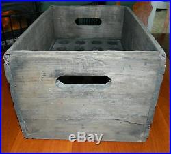 Wood Crate of 24 Vintage Johnnie Collins & Jones Soda Bottles 1920's Fonda, NY